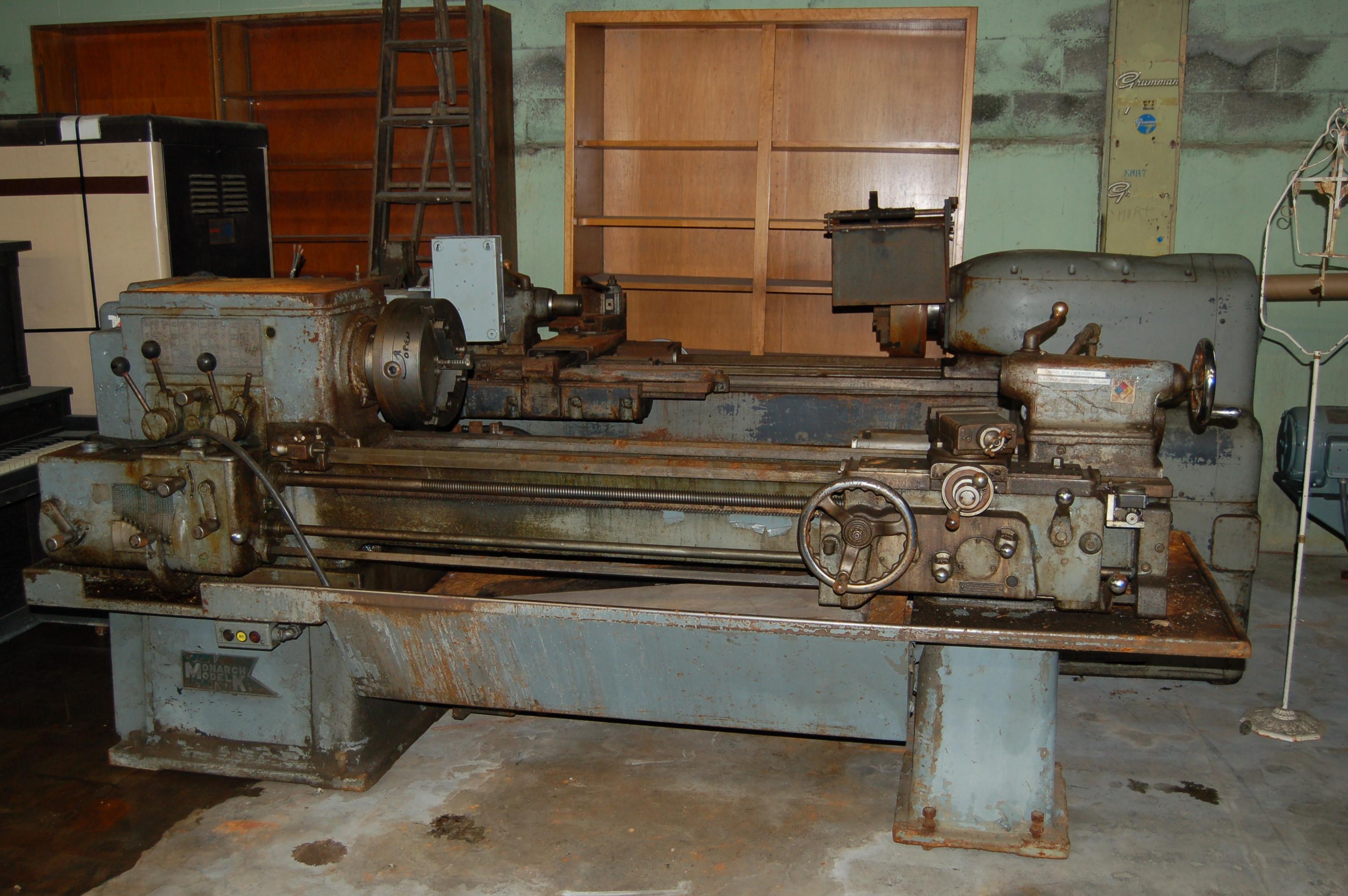 machine tool rebuilding retrofitting repair service manuals rh galleryofmachines com Old Monarch Lathe Modles Monarch Lathe Parts Diagram