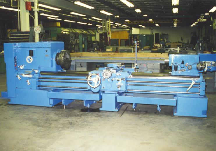 Machine Tool Rebuilding-Links to typical Lathe Rebuild